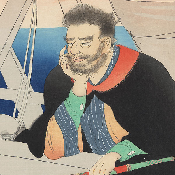 The Sailor Kezori Kuemon by Noda Kyuho (1879 - 1971)