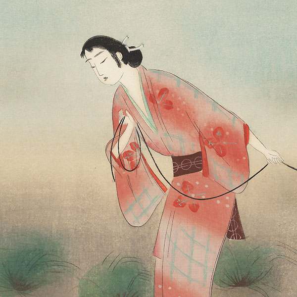 The Heroine Koman from Seki, 1923 by Yamamura Toyonari (1885 - 1942)