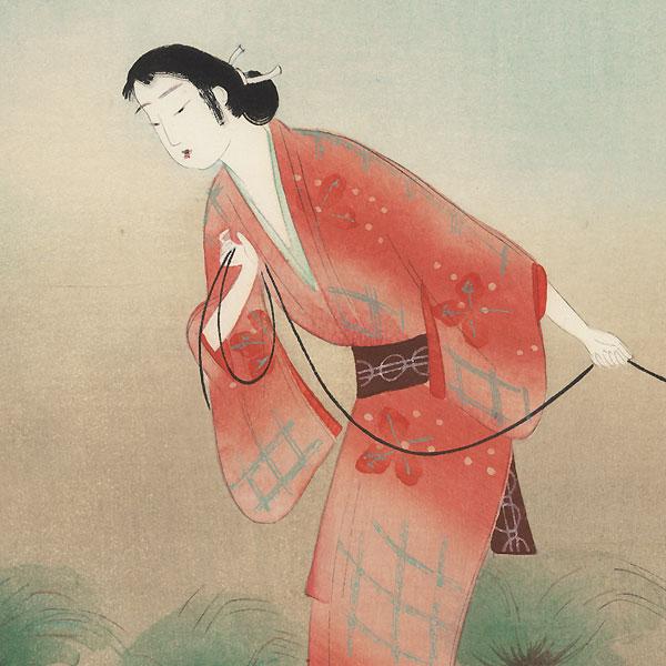 The Heroine Koman from Seki, 1923 by Yamamura Toyonari (1885 - 1942)