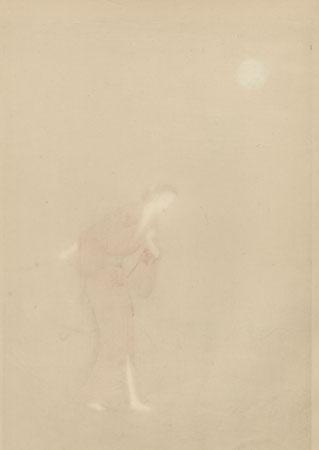 The Heroine Koman from Seki by Yamamura Toyonari (1885 - 1942)