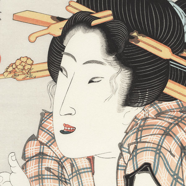 The Amused Type: Sumida River  by Eisen (1790 - 1848)