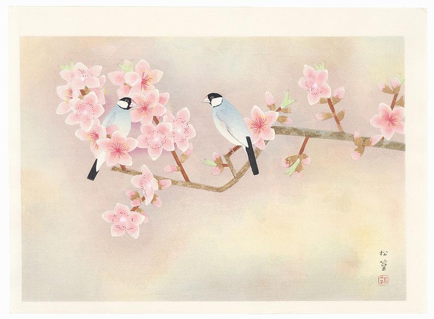 Inside the Flowers by Uemura Shoko (1902 - 2001)