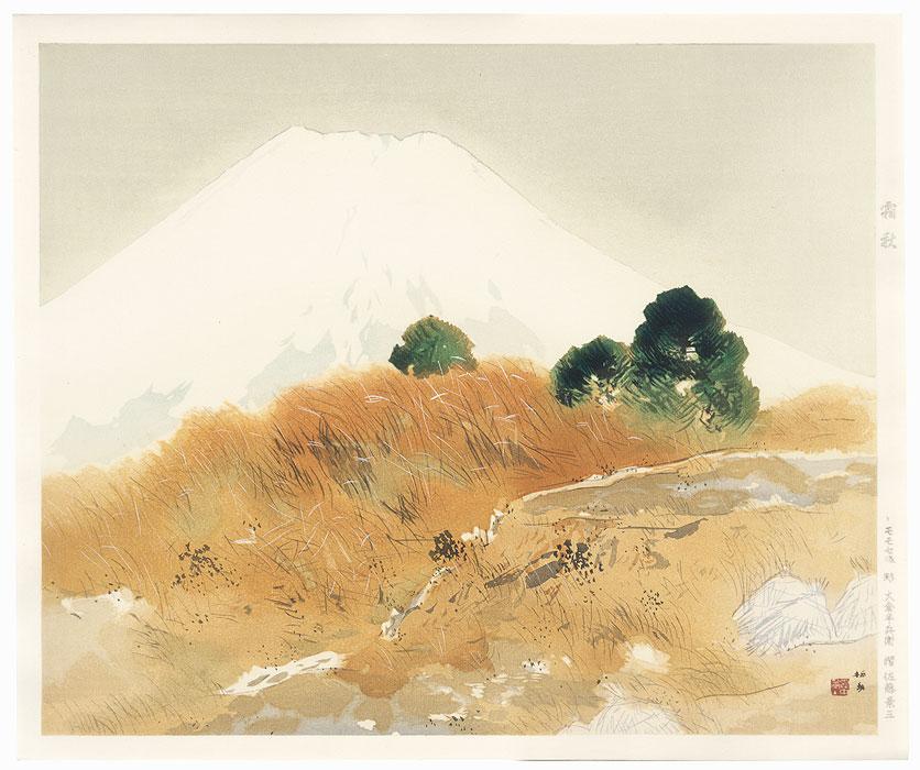 Frosty Autumn by Takeuchi Seiho (1864 - 1942)