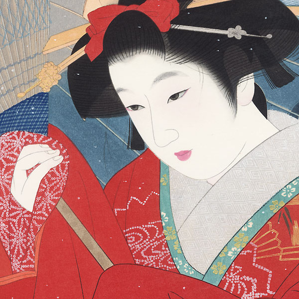 Spring Snow by Ito Shinsui (1898 - 1972)