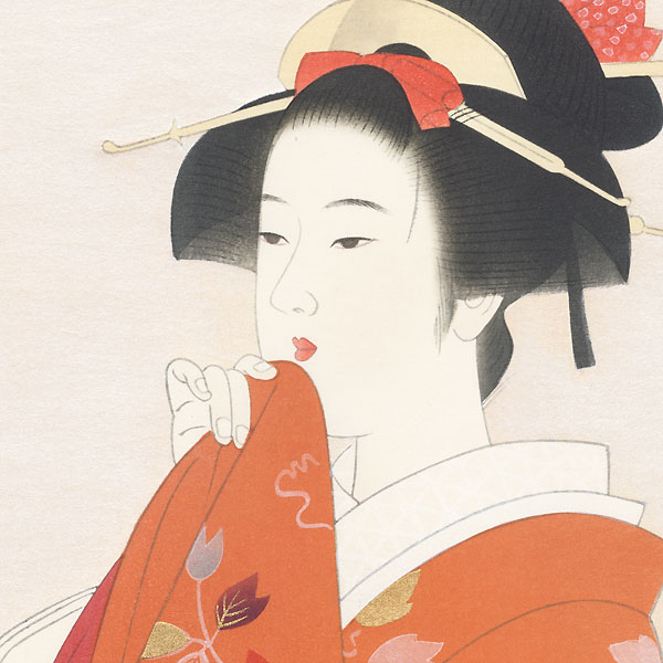 Beauty of Ancient Times by Ito Shinsui (1898 - 1972)
