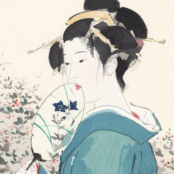 Autumn Garden by Ito Shinsui (1898 - 1972)
