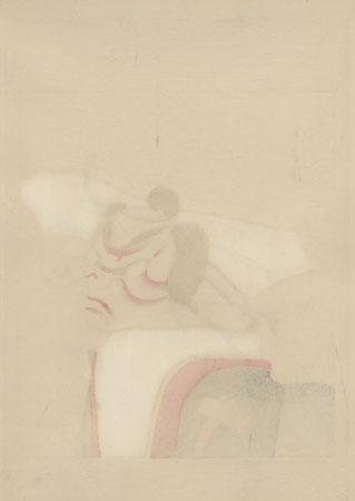 Bunraku by Nishimura Goun (1877 - 1938)