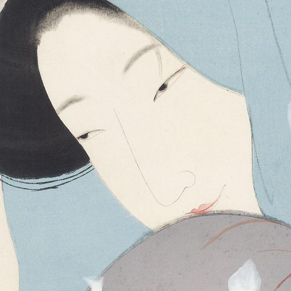 The Heroine Umekawa, circa 1923 by Tsunetomi Kitano (1880 - 1947)