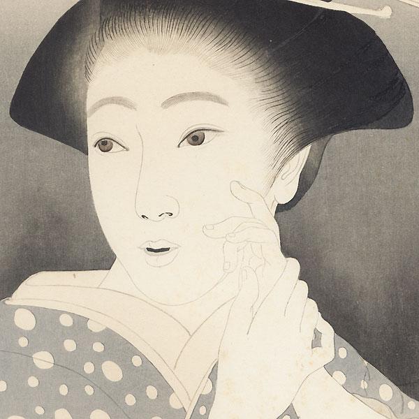 The Heroine Osan, circa 1923 by Saburosuke Okada (1869 - 1939)