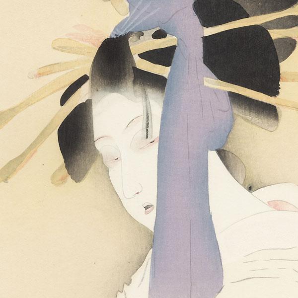 The Heroine Yugiri by Shima Seien (1892 - 1970)