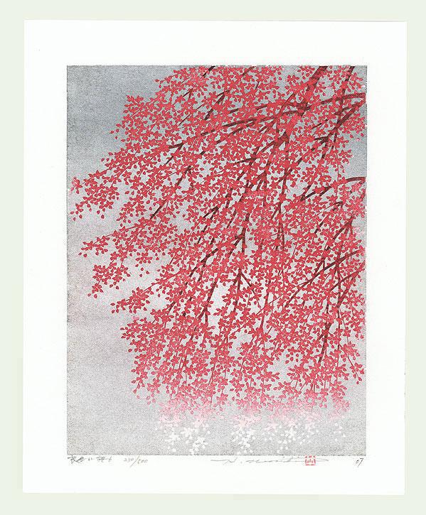 Weeping Cherry 6, 2007 by Hajime Namiki (born 1947)