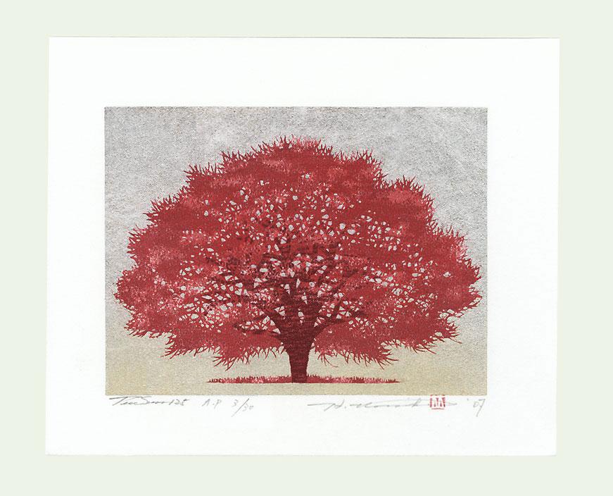 Treescene 125, 2007 by Hajime Namiki (born 1947)