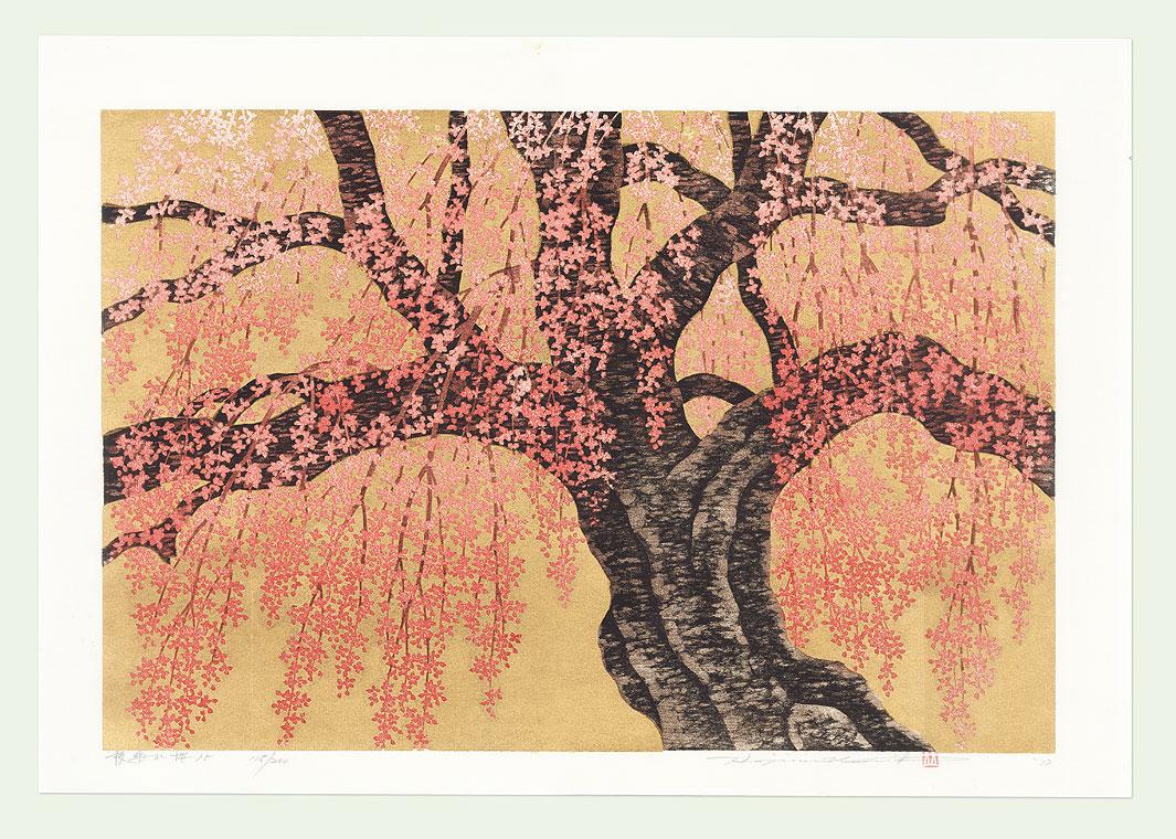 Weeping Cherry 15, 2012 by Hajime Namiki (born 1947)