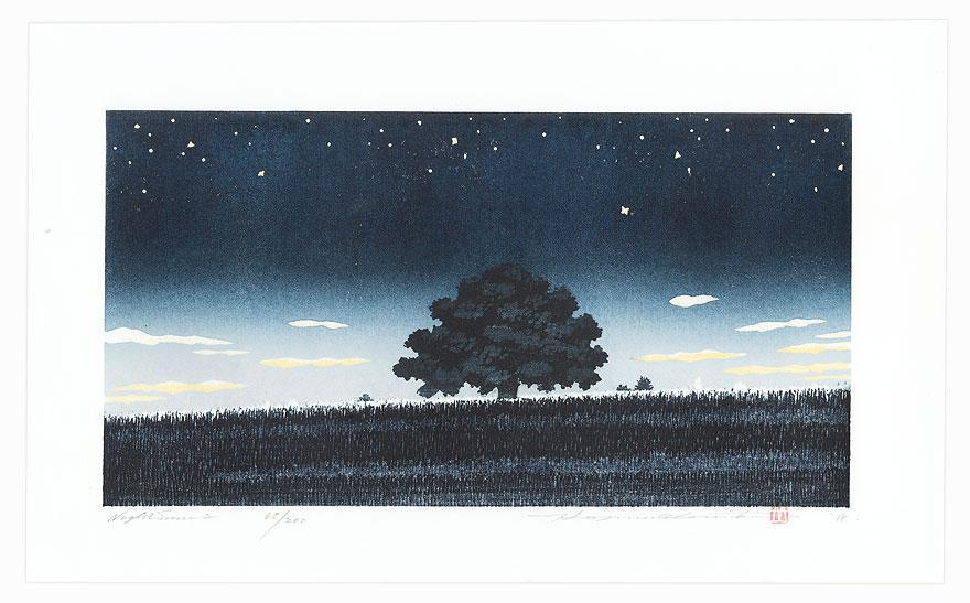 Night Scene 2, 2018 by Hajime Namiki (born 1947)