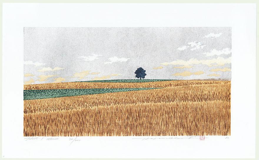 Hill 1, Wheat, 2000 by Hajime Namiki (born 1947)