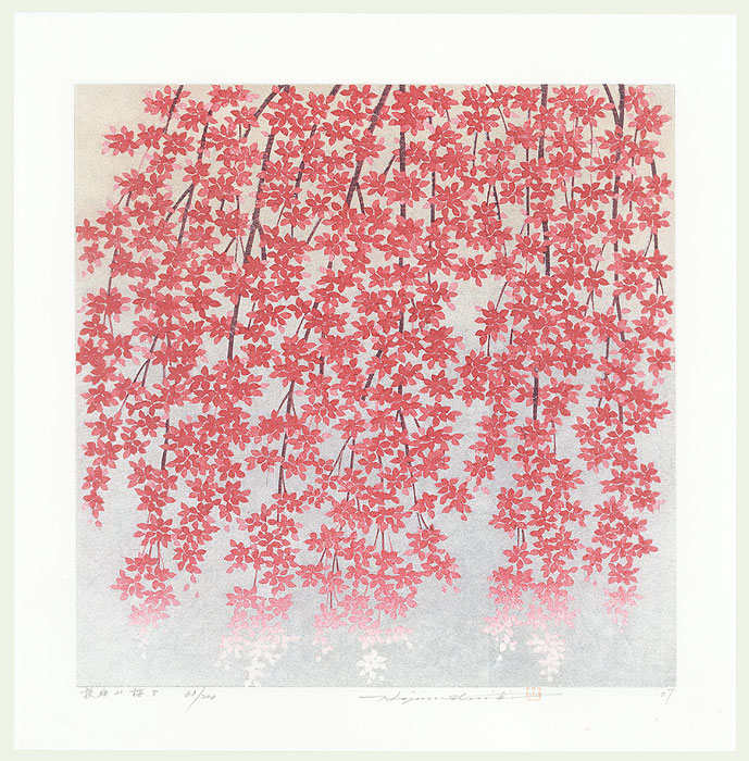 Weeping Cherry 8, 2007 by Hajime Namiki (born 1947)