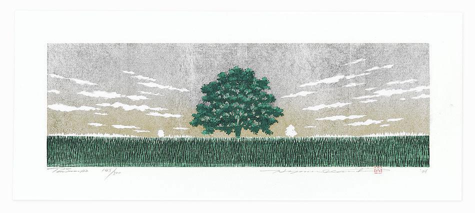 Treescene 122, 2006 by Hajime Namiki (born 1947)