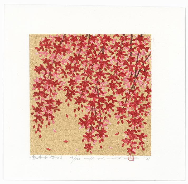 Weeping Cherry 26, 2021 by Hajime Namiki (born 1947)