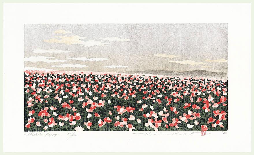 Hill 2, Poppy, 2000 by Hajime Namiki (born 1947)
