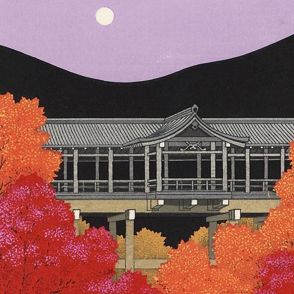 Autumn at Tofuku-ji Temple by Teruhide Kato (1936 - 2015)