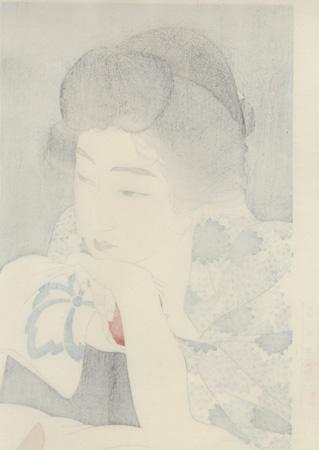 Morning Hair by Torii Kotondo (1900 - 1976)