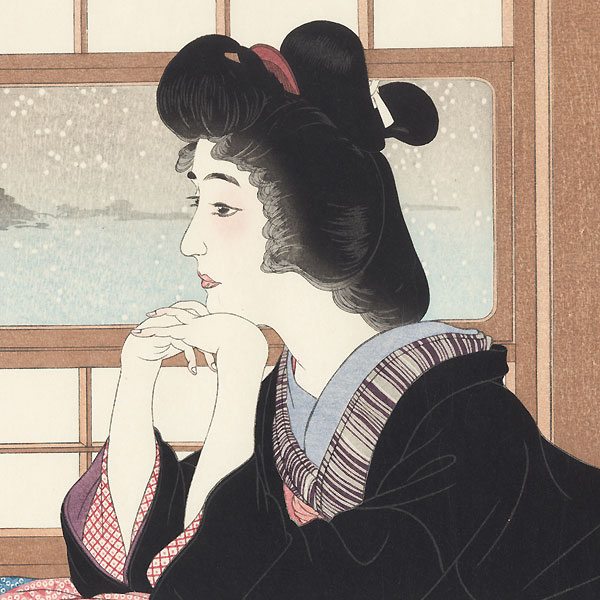 Snow  - Limited Edition Commemorative Print by Torii Kotondo (1900 - 1976)