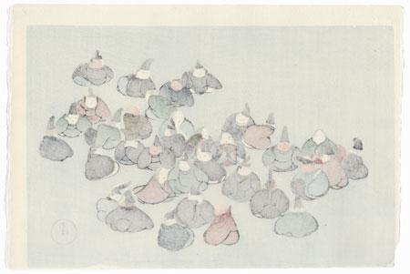 The Thirty-six Poetry Immortals by Kamisaka Sekka (1866 - 1942)