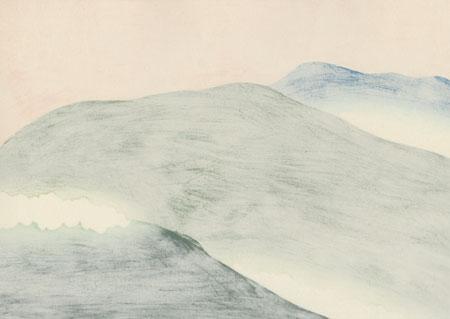 Yoshino Cherry Trees by Kamisaka Sekka (1866 - 1942)