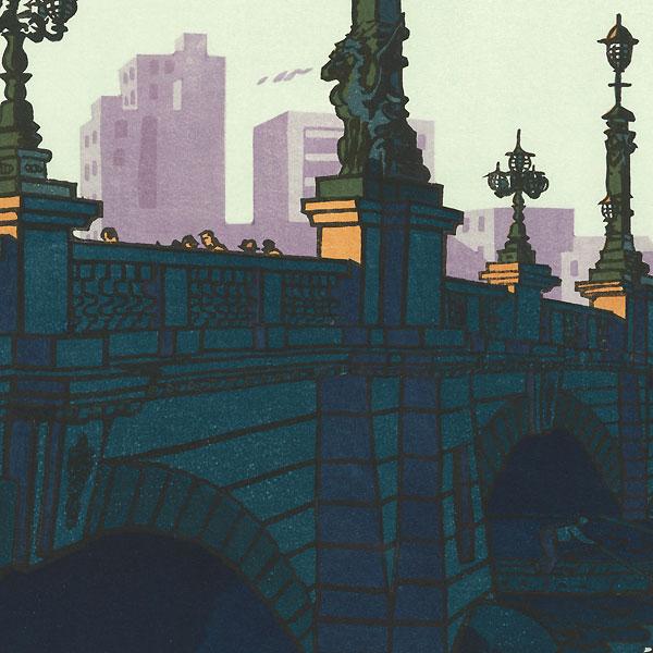Nihon Bridge, 1956 by Shiro Kasamatsu (1898 - 1991)