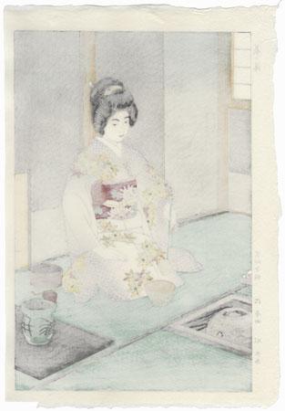 Tea Ceremony, 1954 by Shiro Kasamatsu (1898 - 1991)