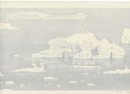 Sea Gull of Antarctic, 1987 by Toshi Yoshida (1911 - 1995)