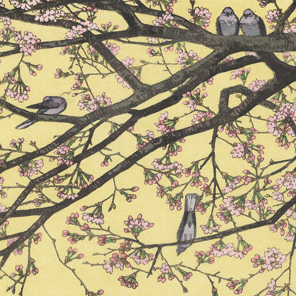 Cherry Blossoms, 1941 by Toshi Yoshida (1911 - 1995)
