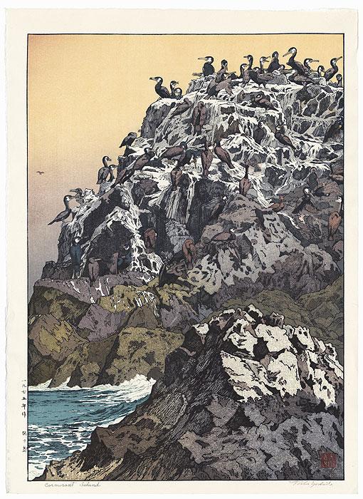 Cormorant Island, 1975 by Toshi Yoshida (1911 - 1995)