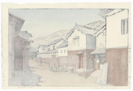 Village in Harima, 1951 by Toshi Yoshida (1911 - 1995)
