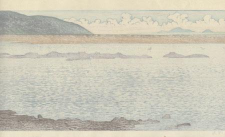 Hippopotamus by Toshi Yoshida (1911 - 1995)