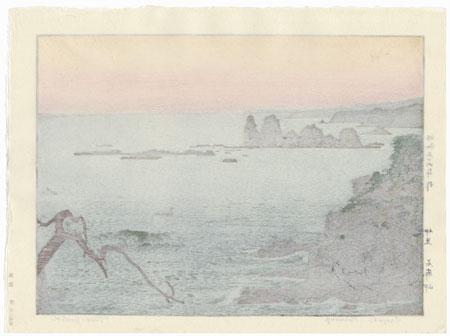 Irozaki, Morning, 1961 by Toshi Yoshida (1911 - 1995)