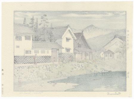 Matsumoto, 1940 by Toshi Yoshida (1911 - 1995)