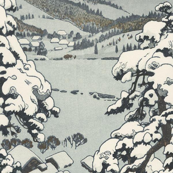 Myoko Hot Spring, 1955 by Toshi Yoshida (1911 - 1995)