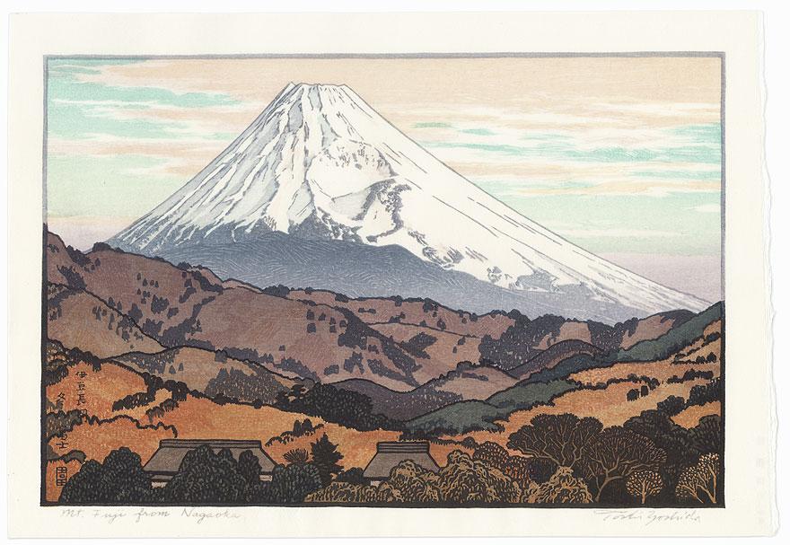 Mt. Fuji from Nagaoka, Cloud, 1962 by Toshi Yoshida (1911 - 1995)