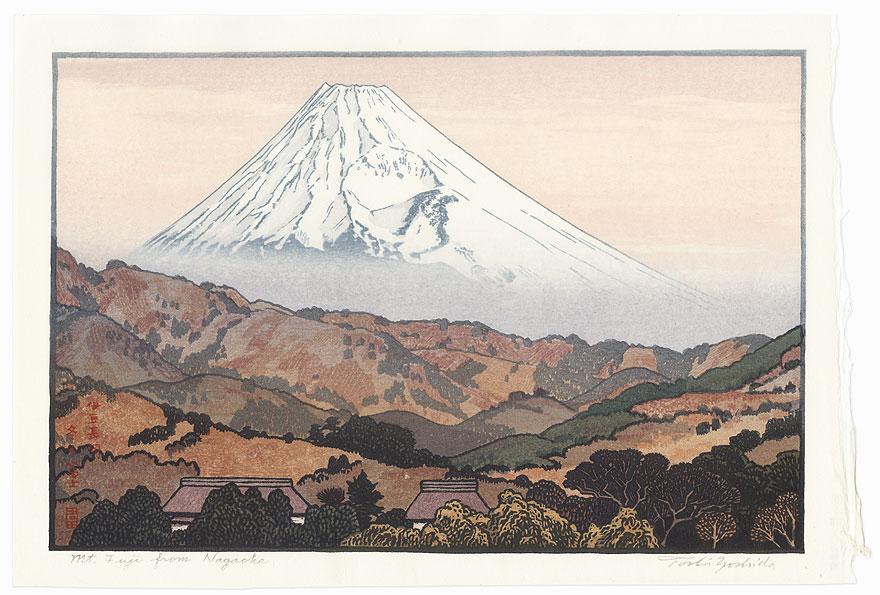 Mt. Fuji from Nagaoka, 1962 by Toshi Yoshida (1911 - 1995)