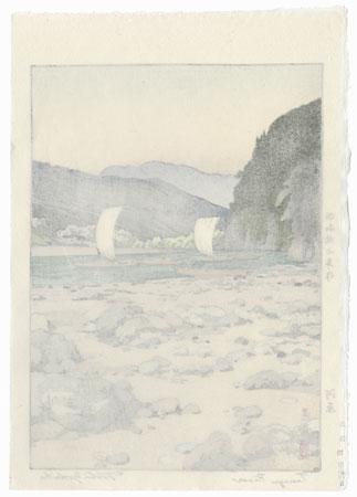 Tenryu River, 1942 by Toshi Yoshida (1911 - 1995)