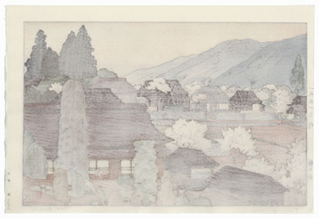 Village of Plums, 1951 by Toshi Yoshida (1911 - 1995)