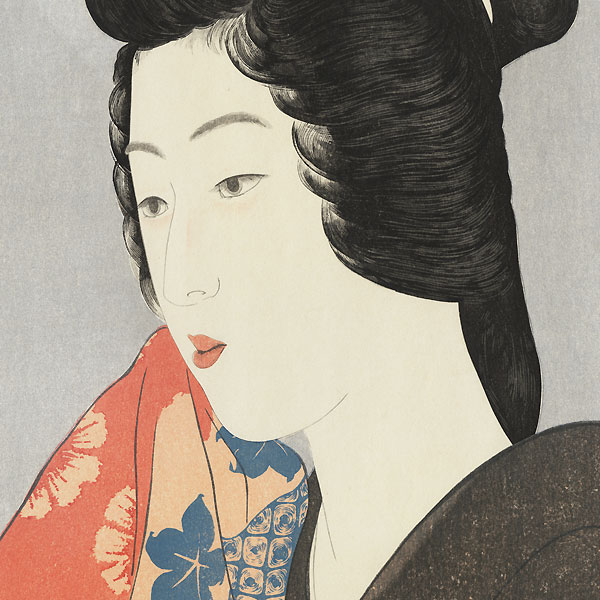 Beauty With a Hand Towel, 1920 by Hashiguchi Goyo (1880 - 1921)
