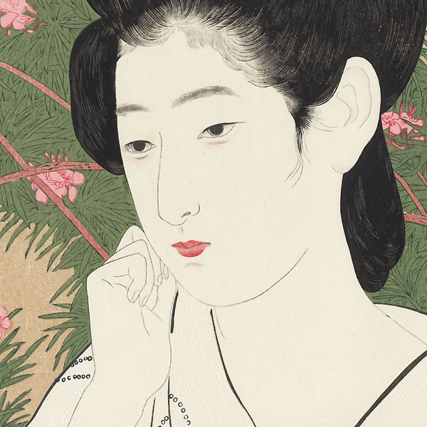 Hot Springs Inn, 1920 by Hashiguchi Goyo (1880 - 1921)