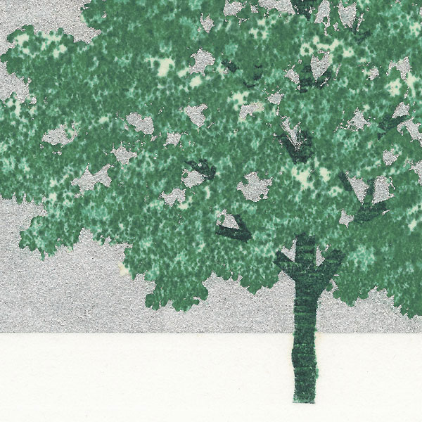 Treescene 127, 2007 by Hajime Namiki (born 1947)