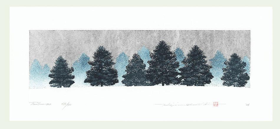 Treescene 120, 2006 by Hajime Namiki (born 1947)