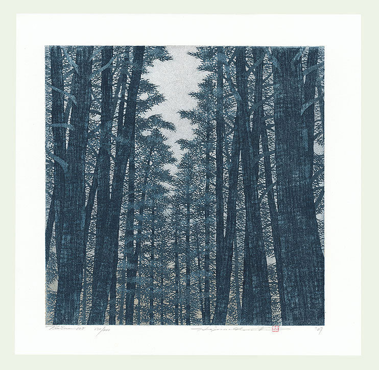 Treescene 128, 2007 by Hajime Namiki (born 1947)
