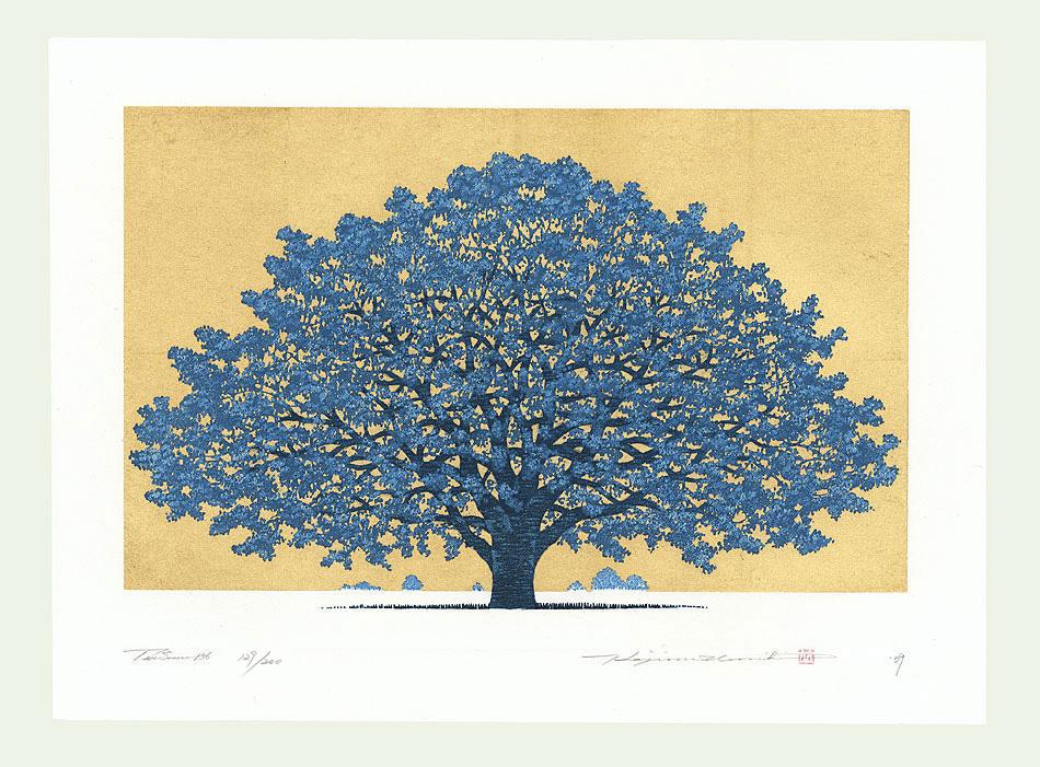 Treescene 136, 2009 by Hajime Namiki (born 1947)