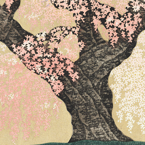 Cherry Tree at Minobu-san Kuonji Temple, 2014 by Hajime Namiki (1947 - )