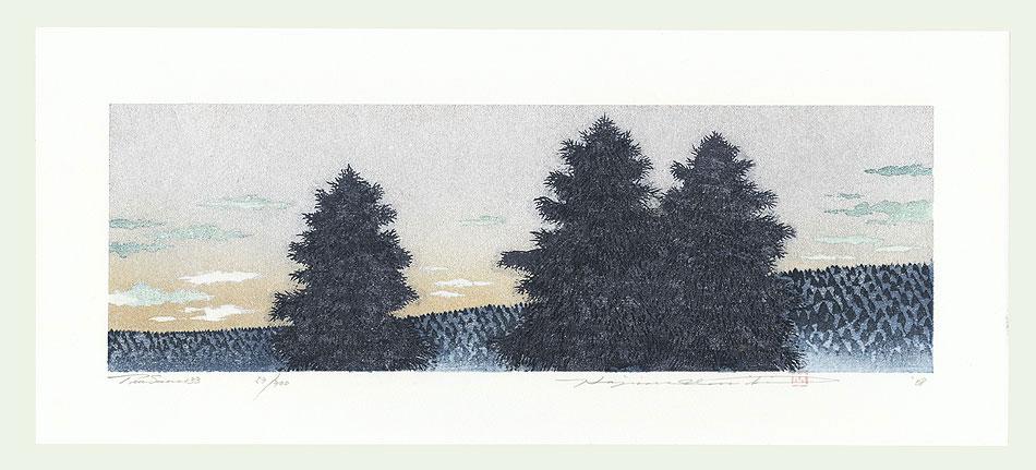 Treescene 133, 2008 by Hajime Namiki (born 1947)